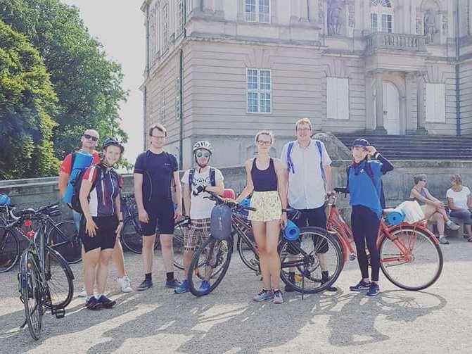 Vi tager på cykeltur